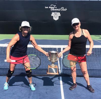 Jill & Moira Tennis championship